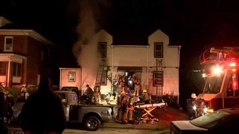 Delaware Avenue House Fire