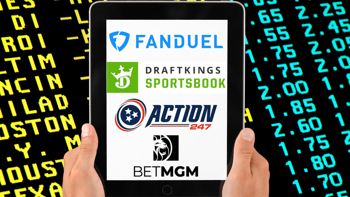 Tennessee has approved four companies to begin accepting online sports wagers.