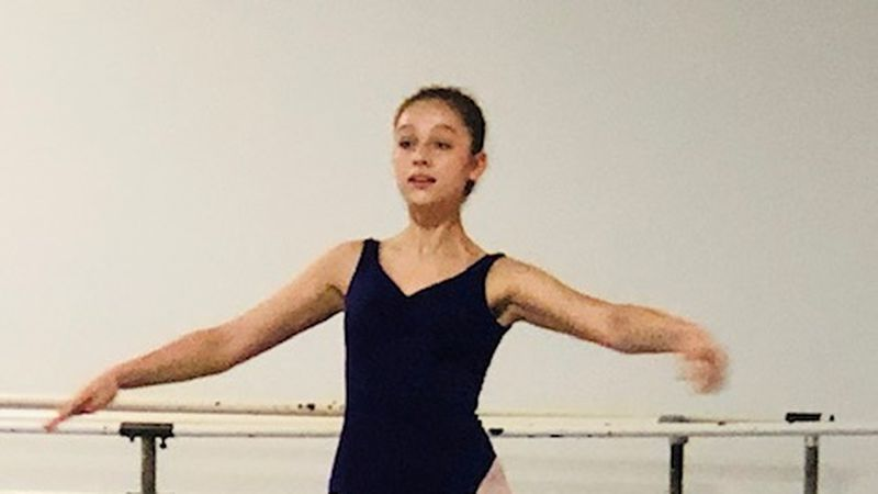 "Emma Cleveland started dancing in ""The Nutcracker"" when she was 9."
