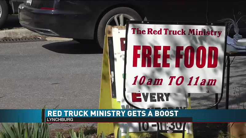 Red Truck Ministry Gets a Boost