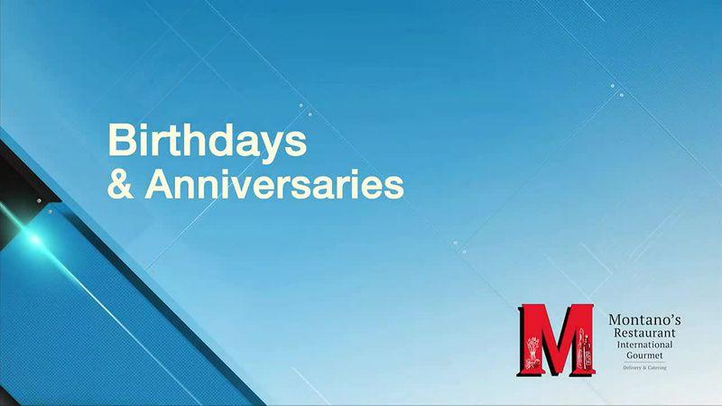 Birthdays and anniversaries for June 19, 2021