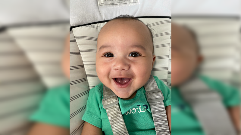 Zane Kahin, of Winter Park, Florida, will serve as the 2021 Gerber Spokesbaby, in addition to...