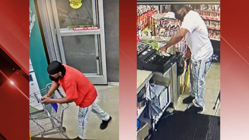 A man is accused of robbing two businesses in Danville August 22.