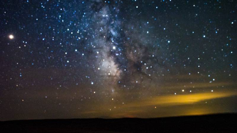 The astronomy program will begin at 8:30p on Saturday from the Wildcat State Recreation Area...