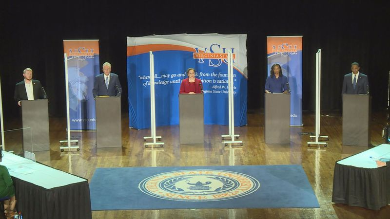 The five Democrats running for Governor in Virginia, will debate Thursday night in Bristol.