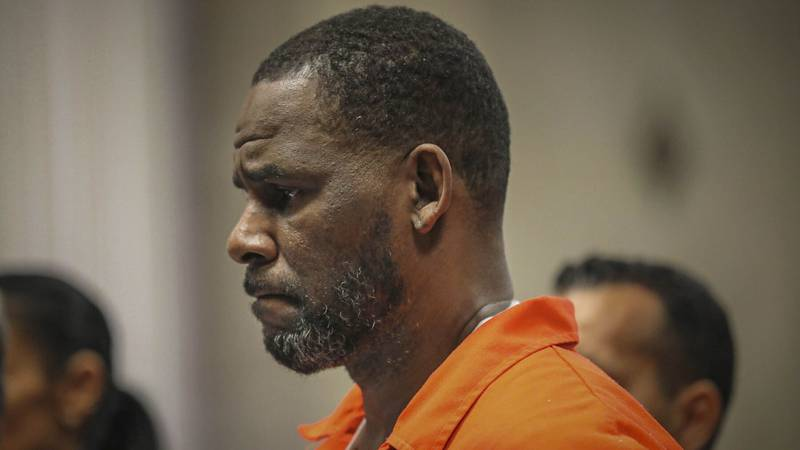 FILE - In this Sept. 17, 2019 file photo, R. Kelly appears during a hearing at the Leighton...