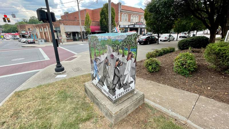 The city of Roanoke is hoping public art will help deliver an important message about traffic...