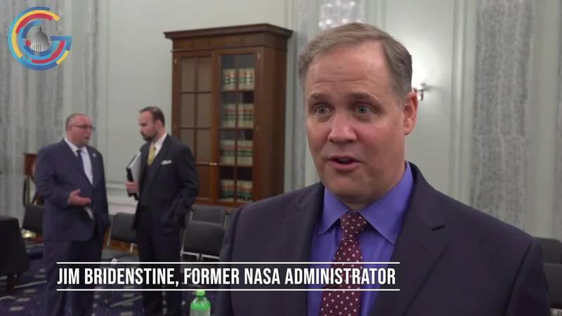 Former NASA Administrator Jim Bridenstine speaks with Gray DC.