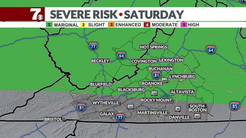 SPC Outlook for Saturday