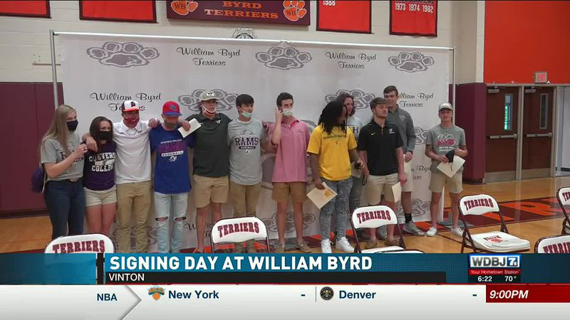 William Byrd Signing Day