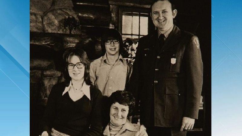 The Everhardt family. Back row: Phil Everhardt, Gary Everhardt. Front row: Karen Everhardt,...