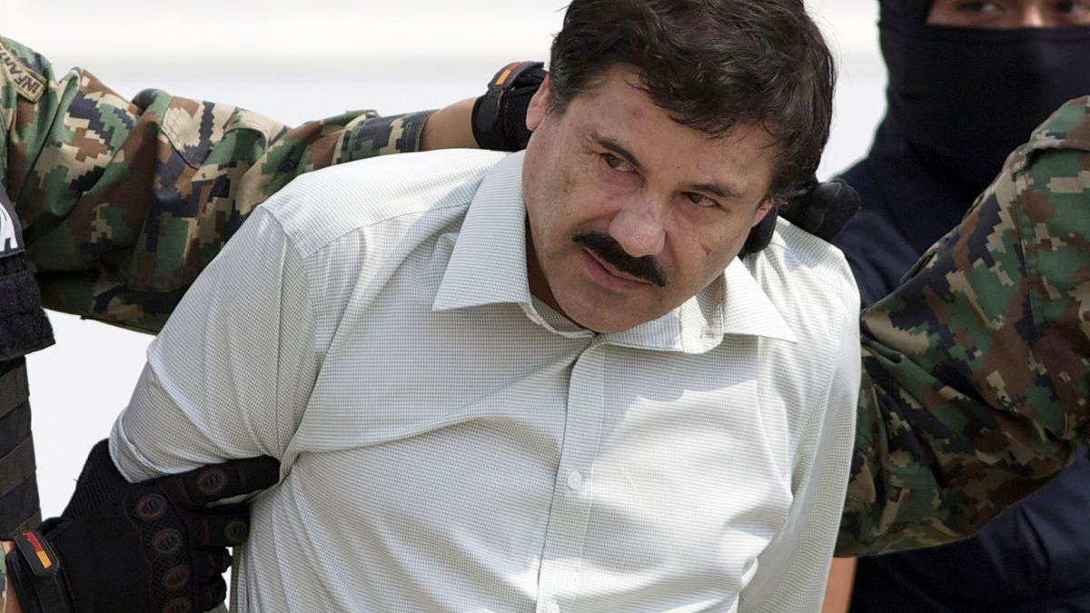 "In this Feb. 22, 2014 file photo, Joaquin ""El Chapo"" Guzman, the head of Mexico's Sinaloa..."