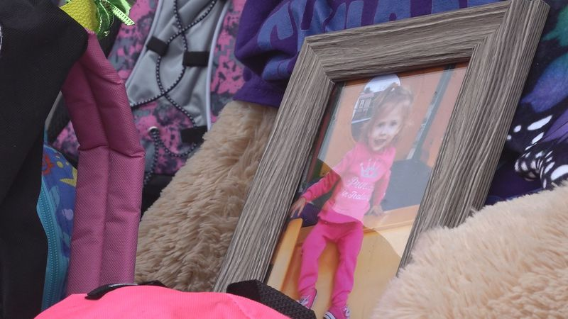 It is all to honor the life of a 2-year-old girl who loved to share.