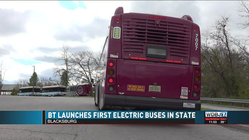 Electric Buses Launched in Blacksburg