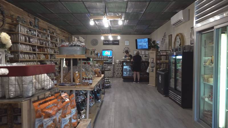 The country store offer fresh deli meat and cheeses to buy by the pound or to order on a...