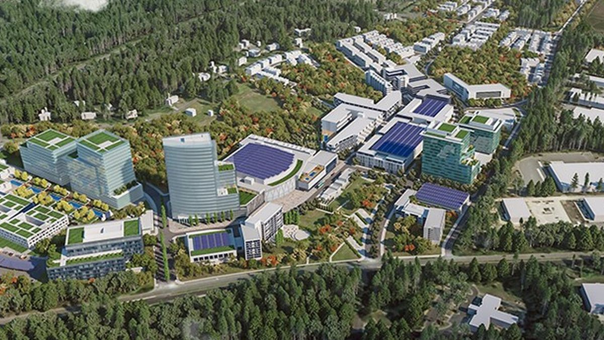 The developers anticipate a formal submission of plans and an application for rezoning to the...
