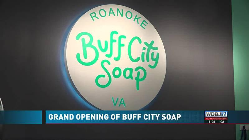 Buff City Soap Opens