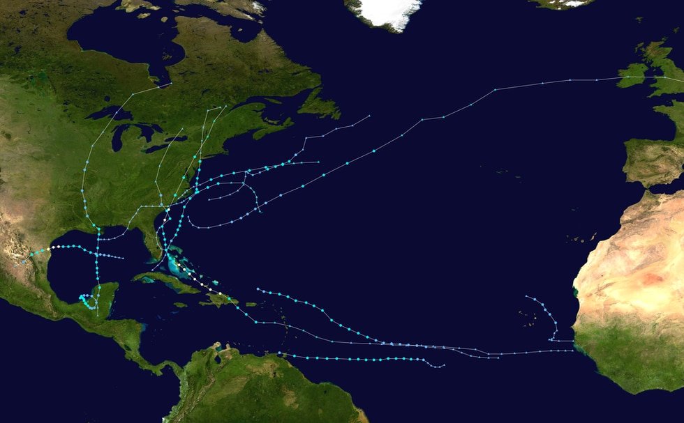 So far there have been 11 named storms and two hurricanes in the Atlantic Basin.