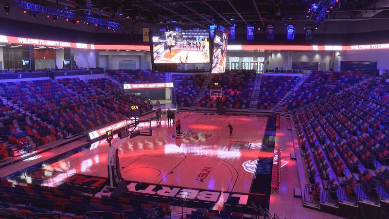 Liberty Arena, the new home of Flames basketball, is set to host its first game on December 1.