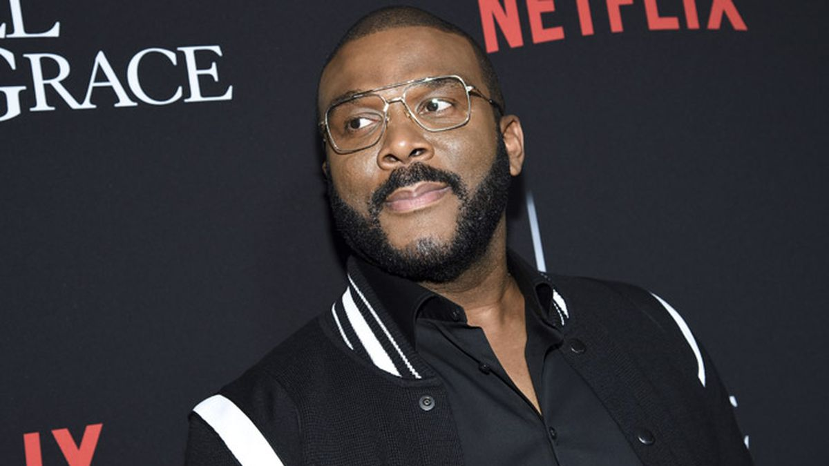 "Writer-director-actor Tyler Perry attends the premiere of Tyler Perry's ""A Fall from Grace"" at Metrograph on Monday, Jan. 13, 2020, in New York. (Photo by Evan Agostini/Invision/AP)"