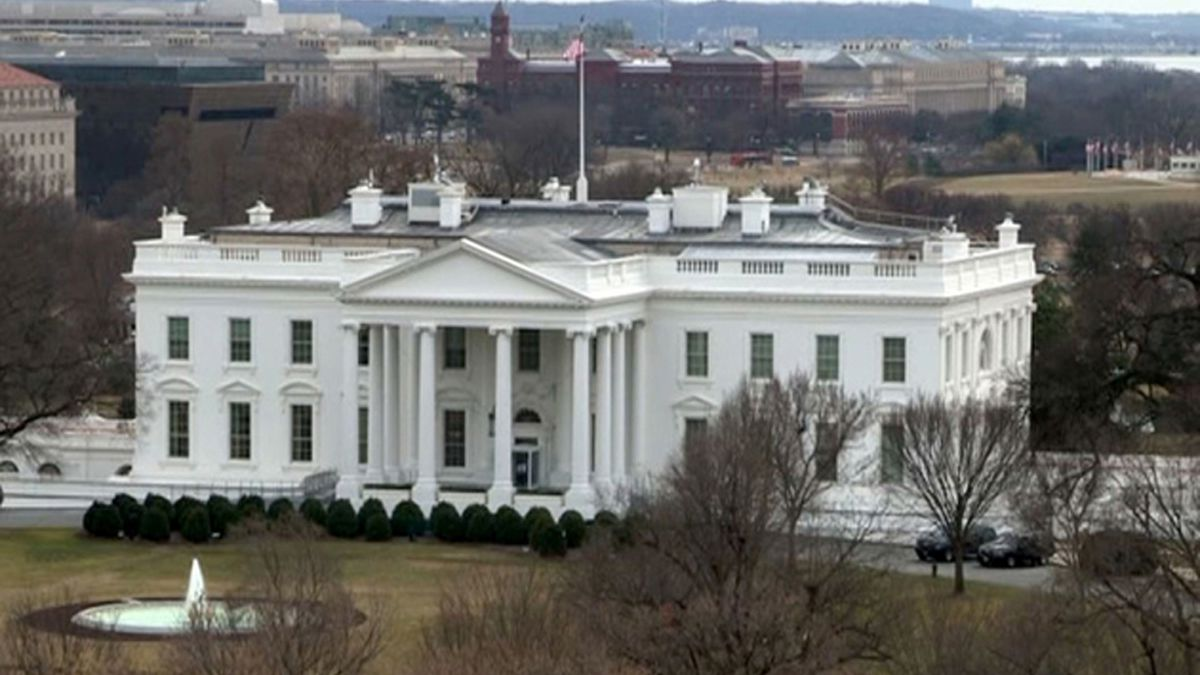 This file image shows the White House in Washington, D.C.