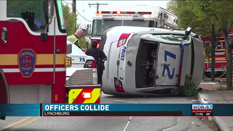 Officers Collide