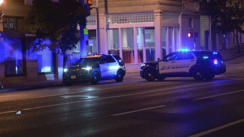 Roanoke police respond to shots fired call Friday morning.
