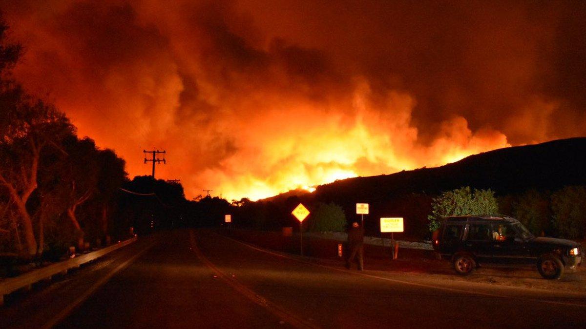 Photo courtesy:  Ventura County Fire Department