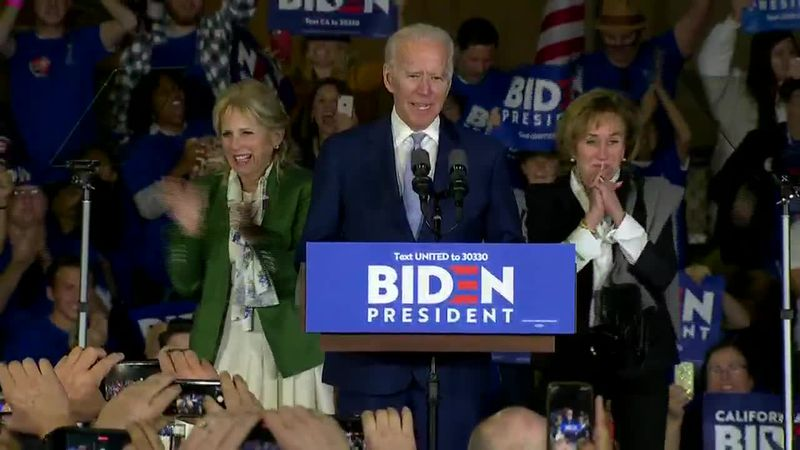 DNC final night: Joe Biden to accept nomination