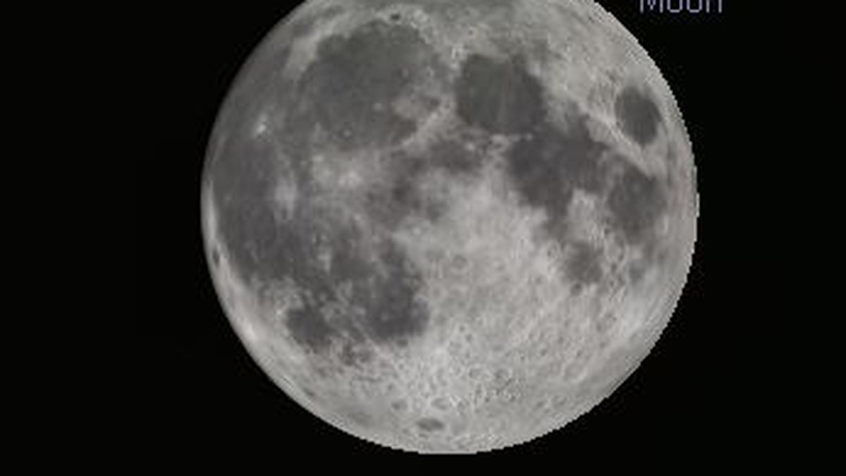 June's full moon is known as the strawberry moon.