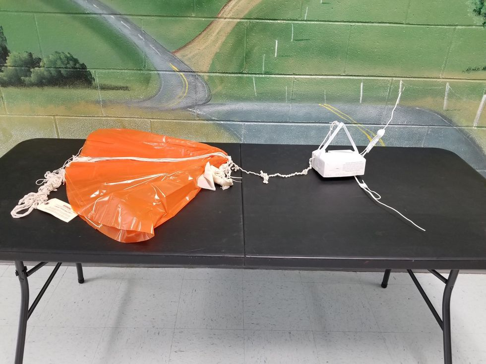 Weather Balloon found in Bassett, VA