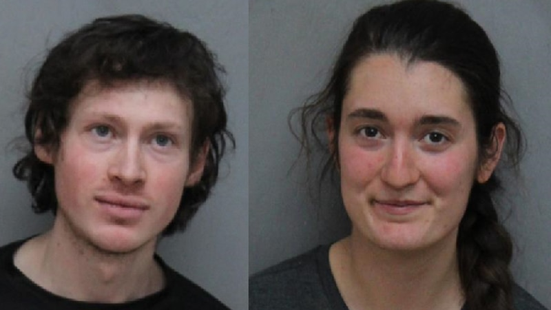 Alexander Lowe and Claire Fiocco, convicted after protesting the Mountain Valley Pipeline