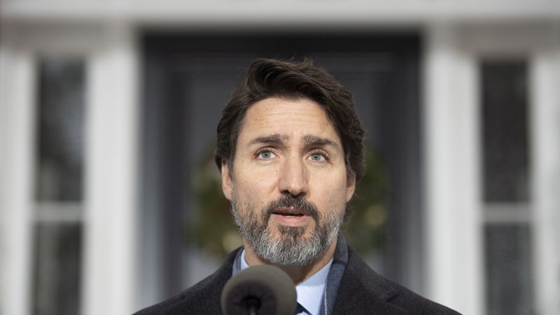 Canadian Prime Minister Justin Trudeau says the ban on nonessential travel with the United...