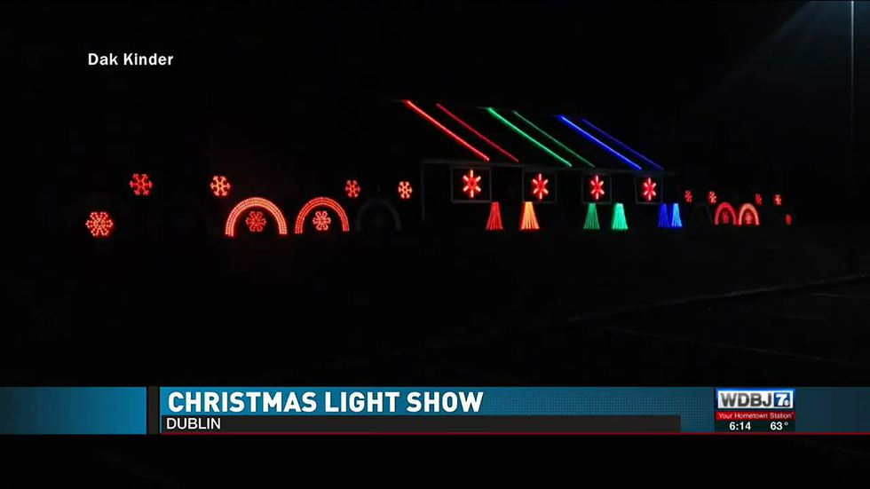 Dublin Christmas Light Show