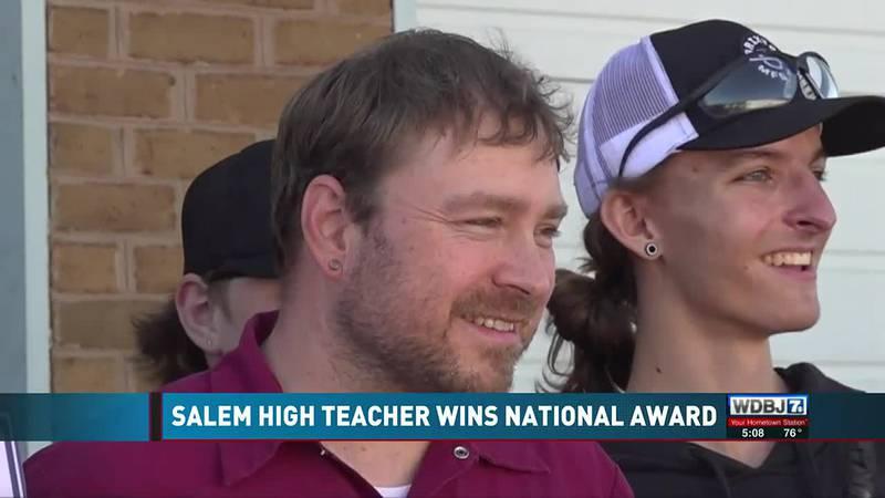 Salem Teacher National Award