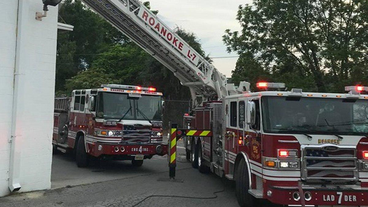 Business Fire on Shenandoah in Roanoke