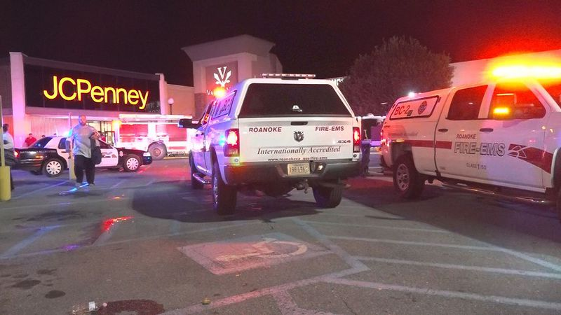 A shooting happened Saturday night at Valley View Mall in Roanoke.
