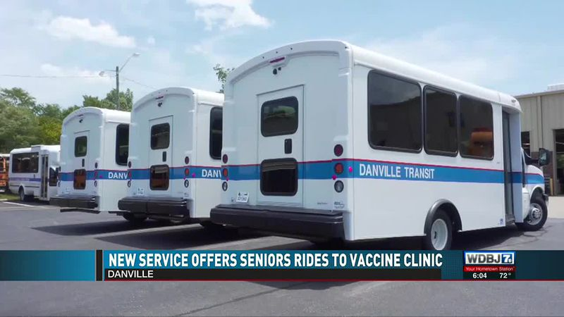 New Service Offers Seniors Rides to Vaccine Clinic