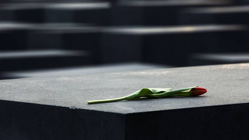 on the International Holocaust Remembrance Day in Berlin on Thursday, Jan. 27, 2011.