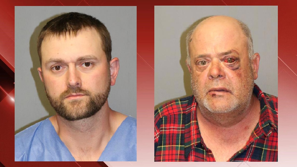 Michael Richardson (left) and Ricky Pierce (right). Photos: New River Valley Regional Jail.