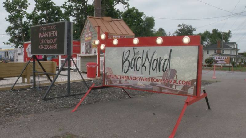 There are a dozen food trucks at The Backyard in Bedford County with more on their way.