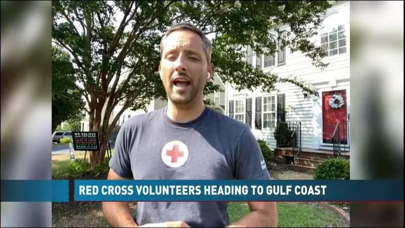 Red Cross Volunteers Heading To Gulf Coast