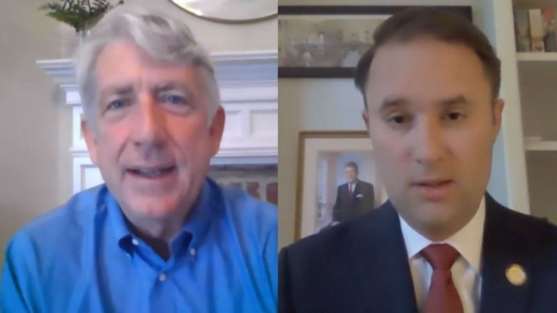 Democratic Attorney General Mark Herring and Republican challenger Del. Jason Miyares are...