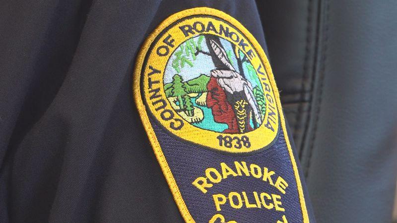 Roanoke County Police uniform patch.