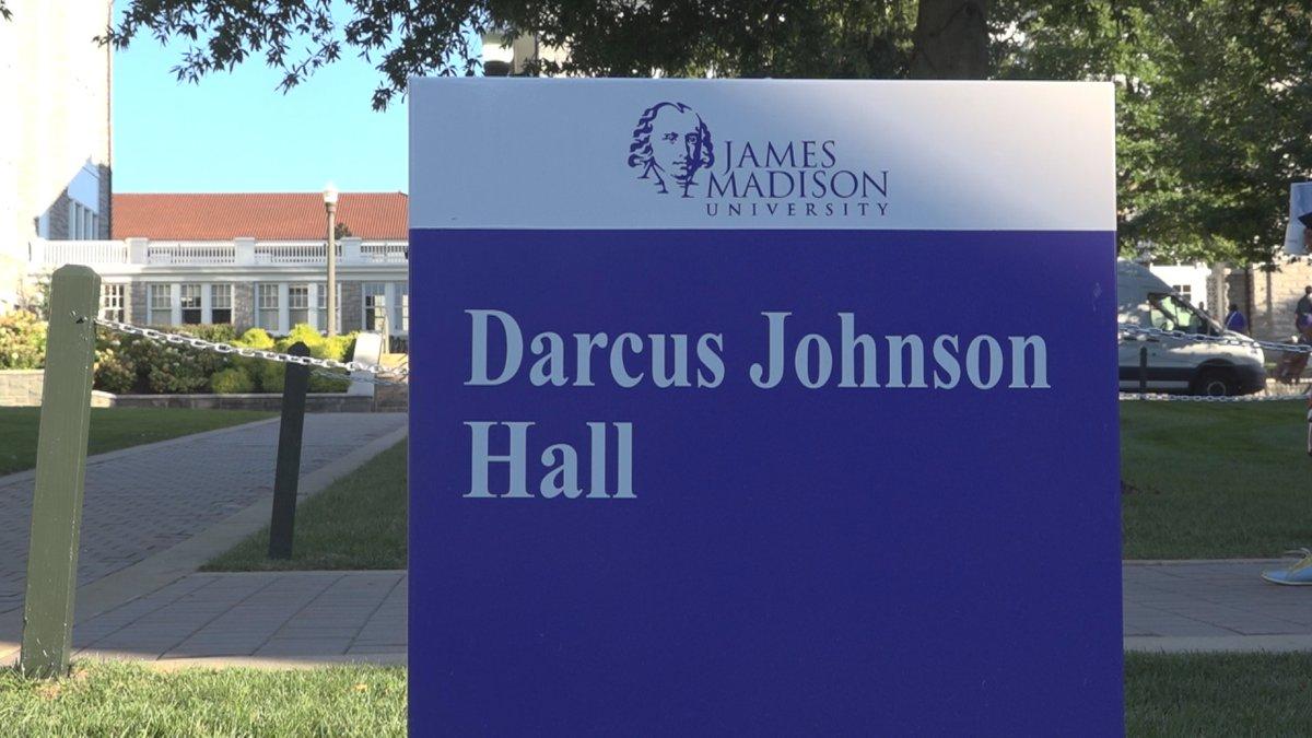 JMU holds building rededication ceremony for renamed buildings