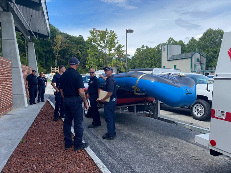Roanoke swift water team deployed to Hurley VA