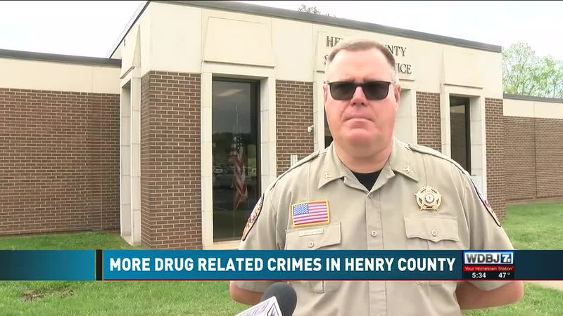 More Drug Related Crimes in Henry County