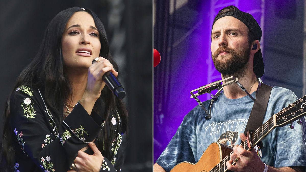"Kacey Musgraves performs during the first weekend of the Austin City Limits Music Festival in Zilker Park on Oct. 6, 2019, in Austin, Texas, left, and Ruston Kelly performs at the Bonnaroo Music and Arts Festival on June 15, 2019, in Manchester, Tenn. Musgraves and Kelly have filed for divorce. In a joint statement, Musgraves and Kelly said ""we've made this painful decision together."" Musgraves and Kelly, both 31, were married in 2017.  (Photo by Amy Harris/Invision/AP)"
