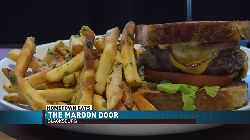 Hometown Eats: The Maroon Door