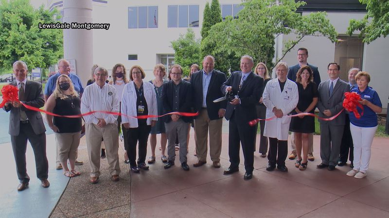 The hospital held a ribbon cutting ceremony on Thursday to mark the opening of the newly...